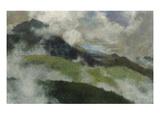 Aufsteigende Nebel, 1903 Reproduction procédé giclée par Franz Marc