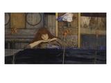 Ich Schliesse Mich Selbst Ein (I Lock My Door Upon Myself), 1891 Giclee Print by Fernand Khnopff