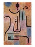 Der Erzengel, 1938 Giclee-trykk av Paul Klee