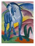 Blaues Pferd I., 1911 Gicléetryck av Franz Marc