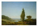 Summer, 1807 Gicléedruk van Caspar David Friedrich