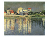 Banks of the Seine at Argenteuil, 1889 Giclee Print by Gustave Caillebotte
