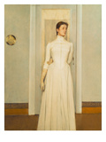 Marguerite, the Artist's Sister Giclee Print by Fernand Khnopff