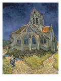 The Church at Auvers-Sur-Oise, 1890 Giclee Print by Vincent van Gogh