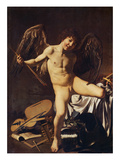 Victorious Cupid, 1602 Giclée-tryk af  Caravaggio