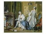 La Toilette, 1742 Giclee Print by Francois Boucher