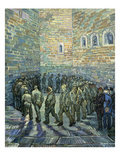 The Exercise Yard, 1890 Giclee Print by Vincent van Gogh