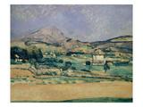 Blick Zum Mount Saint-Victoire, 1882/85 Giclee Print by Paul Cézanne