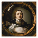 Self-Portrait in a Convex Mirror, 1523/24 Gicléetryck av Parmigianino,