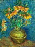 Crown Imperial Fritillaries in a Copper Vase, 1886 Giclée-tryk af Vincent van Gogh