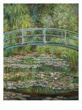 Japanische Bruecke, 1899 Lámina giclée prémium por Claude Monet