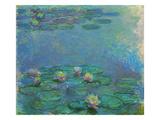 Nymphéas, 1914/1917 Giclée-Druck von Claude Monet