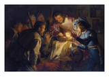 The Dentist, 1622 Giclee Print by Gerrit van Honthorst