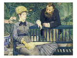 The Couple Guillemet in a Conversatory, 1879 Giclee Print by Edouard Manet