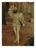 The Singer D'Andrade as Don Juan (Or: the Champagne Song), 1902 Giclée-Druck von Max Slevogt