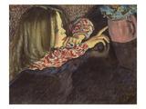 Child with a Flower Pot Giclee Print by Stanislaw Wyspianski