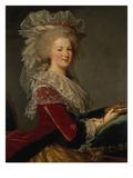 Portrait of Queen Marie Antoinette Giclée-Druck von Elisabeth Louise Vigee-LeBrun