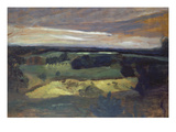 View from Weyerberg Gicléetryck av Paula Modersohn-Becker