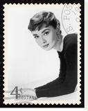 Movie Stamp VII Stretched Canvas Print