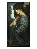 Proserpina, 1877 Giclee-trykk av Dante Gabriel Rossetti
