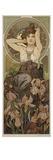 The Precious Stones: Amethyst, 1900 Giclée-Druck von Alphonse Mucha
