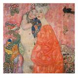 The Girlfriends, 1916/17 Impressão giclée por Gustav Klimt