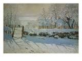 The Magpie, 1868/69 Giclée-Druck von Claude Monet