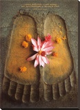 Thich Nath Hanh, I Have Arrived Stretched Canvas Print