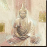 Buddha II Stretched Canvas Print by Elvira Amrhein