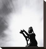 Buddha Offering, Lantou Island,Hong Kong Bedruckte aufgespannte Leinwand von Michael Kenna