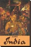 Ajanta, India, c.1959 Stretched Canvas Print