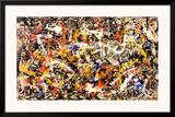 Convergência Posters por Jackson Pollock