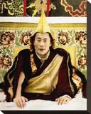 The Dalai Lama Stretched Canvas Print