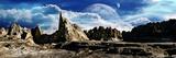 Darkside of Moon Calastronom Fotografie-Druck von  Exploding Art