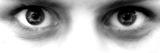 Only Eyes Fotografie-Druck von  Exploding Art