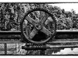 The Gear Fotografie-Druck von  Exploding Art