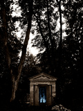 Secret Door Fotografie-Druck von  Exploding Art