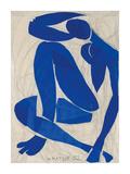 Nu Bleu IV Poster von Henri Matisse