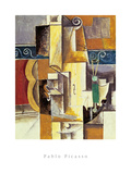 Violin And Guitar Kunstdrucke von Pablo Picasso