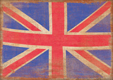 Union Jack, Vintage Art by Sasha Blake