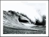 Pacific Wave Impressão montada por Gilles Martin-Raget