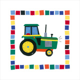 Tractor Posters by Sophie Harding