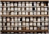 Wall of Jars Istanbul Turkey Foto