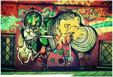 Graffiti Athens Greece Láminas