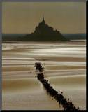 Mont St. Michel Impressão montada por Philip Plisson