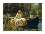 The Lady of Shalott Juliste tekijänä John William Waterhouse
