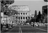 Coliseo en Roma, Italia Lámina