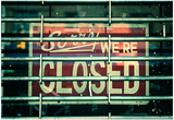Sorry We're Closed Pósters