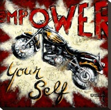 Empower Yourself Stampa su tela di Janet Kruskamp