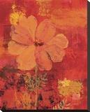 Marigolds III Bedruckte aufgespannte Leinwand von Lisa Ven Vertloh